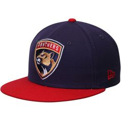 6eb21c7fa49 Florida Panthers New Era Fitted Hat - Navy Red