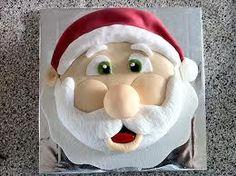 christmas santa cakes