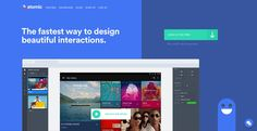 HeaderLove - Let's Design an Awesome Header. A showcase directory of hand-picked quality Website Header Designs for your Web Inspiration Flat Design Colors, Flat Web Design, Web Design Tools, Tool Design, Ux Design, Site Inspiration, Website Header Design, Blue Color Schemes, Wireframe