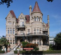 I would make do with just 2 stories but this is amazing. 1892 Bishop's Palace in Galveston, TX