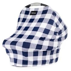The Milk Snob Multi-Use Car Seat Cover is the ultimate in versatility for the busy mom. Designed for your car seat, this chic navy plaid design can also be used as a nursing cover, or to cover a shopping cart, high chair, a swing and more. Milk Snob Cover, Plaid Nursery, Small Luxury Cars, Shopping Cart Cover, Shopping Carts, Cover Boy, Breastfeeding Cover, Car Seat Accessories, Baby Swings