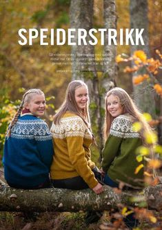 Speiderstrikk - KFUK-KFUM-speiderne Yarn Crafts, Diy And Crafts, Pullover, Knit Crochet, Cardigans, Sweater, Couple Photos, Knitting, Sewing