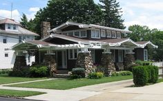 craftsman style home in Lancaster, Ohio