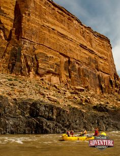 Raft through stuffing scenery on the Colorado River with MAC's Westwater Canyon rafting trip! #Moab #Utah #whitewater #vacation