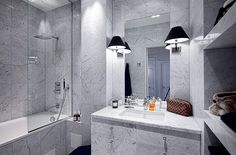 Marble...and more marble bathroom