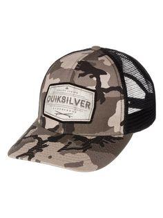 quiksilver, Weeks Trucker Hat, Cypress (gra0)