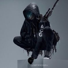 ACRONYM FITS by ΛCRHIVERS sur Instagram : ACGSNIPER Fit by @nikelab Artwork by @yoshimitszu Nikelab ACG More robots here.