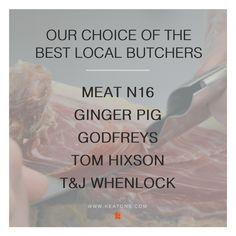Whether you're after a turkey to feed 8 or perhaps just some pigs in blankets, we've compiled a list of the best butchers in your area! 🐖🍗🐓🍖🐄 http://www.keatons.com/access-london/the-best-local-butchers/ #London #LondonLovesFood
