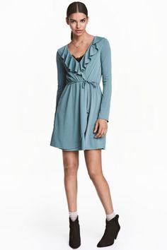 Платье с запахом | H&M
