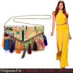 Descubre nuestra maravillosa selección de #bolsos #étnicos ★ 19,95 € en https://www.conjuntados.com/es/bolso-bandolera-sidhi-con-borlas-multicolor.html ★ #novedades #bolso #handbag #purse #crossbodybag #conjuntados #conjuntada #accesorios #lowcost #complementos #moda #fashion #fashionadicct #picoftheday #outfit #estilo #style #GustosParaTodas #ParaTodosLosGustos