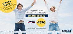 Hyperhidrosis Treatment Dublin Special Offer