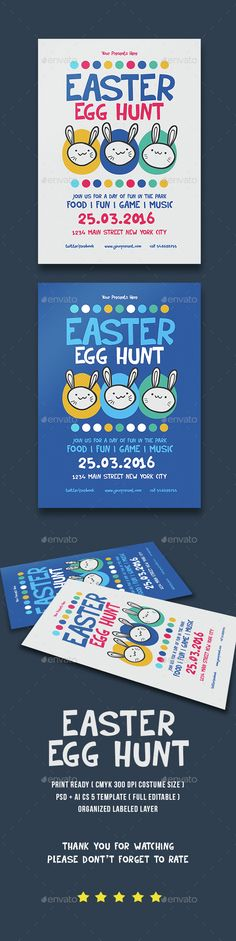 Easter Party Flyer Template PSD. Download here: http://graphicriver.net/item/easter-party/15101058?ref=ksioks