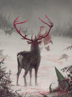 Rudolf nie chciał dać się zaprząść - Joe Monster