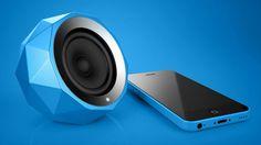 Diamond Bluetooth Speaker on Industrial Design Served