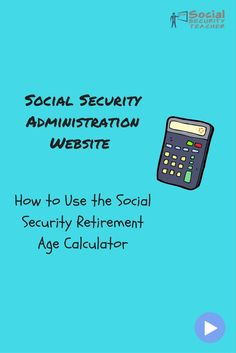 On episode four of our Social Security Administration website how to video series, we will be exploring how use the Social Security Retirement Age Calculator. Or otherwise know as Full Retirement Age (FRA).  This calculator will let you know what age you become entitled to receive full benefits and it will also show if you start receiving benefits early at age 62 or 65 what percentage of the full benefit you will receive.