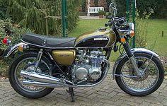 CB500 Four K1 1972