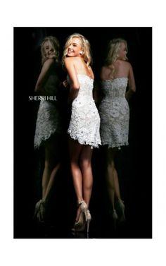 2014 Sherri Hill Beautiful Prom Dress 8526 TurquoiseOutlet ...