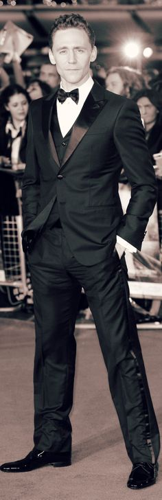 Mr. Hiddleston looking absolutely divine!! He is the epitome of class, elegance, and charm.