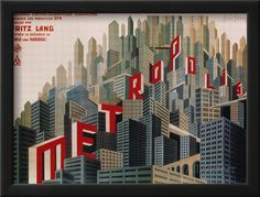 Metropolis, French Movie Poster, 1926 Poster - AllPosters.ca