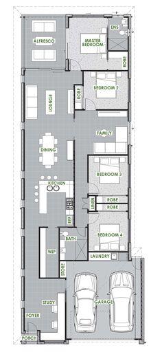 Springbrook Floor Plan - Green Homes Australia
