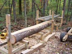 Cherry log on the mill... From 2010