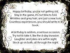 more birthday poems to copy 70th Birthday Poems, Happy Birthday Friend, Happy Birthday Images, Happy Birthday Greetings, Birthday Wishes, Birthday Gifts, Birthday Sayings, 50 Birthday, Birthday Ideas