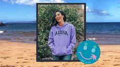 Share Aloha Everyday in this soft ringspun hooded fleece sweatshirt. It is an excellent weight for both warm and cold temps. Lucky Penny, Vintage Looks, Hooded Sweatshirts, Hoods, Hawaii, Long Sleeve Tees, Warm, Clothes, Outfits