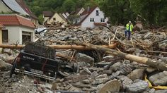 Heavy rains have caused deadly and destructive flooding in both Germany and France.
