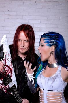 Arch Enemy's Michael Amott and Alissa White-Gluz
