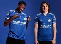 Leicester City 2020-21 Adidas Home Kit #LeicesterCity #lcfc #adidasfootball Man Pose, Leicester City Fc, King Power, Campaign Logo, Adidas Football, English Premier League, Team Shirts, Soccer, 21st