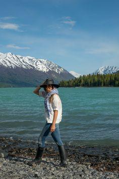 Kenai Lake, Alaska Rocky Shore