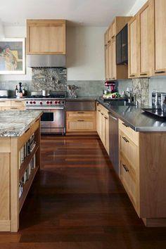 modern wooden kitchen design ideas