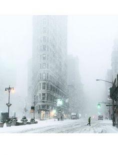 Les plus belles photos Instagram de la neige à New York
