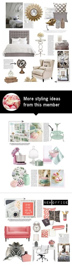 """12.09.2015"" by desdeportugal on Polyvore featuring interior, interiors, interior design, home, home decor, interior decorating, D.L. Rhein, Surya, Tory Burch and Michael Aram"