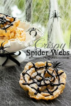 Huckleberry Love: Much Ado About Monday {No. 32} & Some Great Features!- Crispy Spiderwebs via This Silly Girls Life
