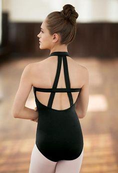 Bold A-Back Strappy Halter Leotard – collants et dessous Costume Flamenco, Ballet Costumes, Dance Costumes, Ballet Wear, Ballet Dance, Dance Wear Solutions, Salsa, Ballet Clothes, Dance Leotards