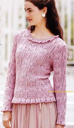 Модели вязания: Изысканность и нежность