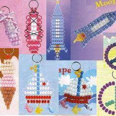 a lot of beads pendants