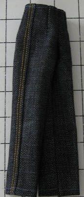 fashion doll jeans. free pattern
