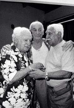 Jorge Amado, Carybé & Caymmi (o primeiro Trio Elétrico da Bahia, nas palavras do escritor)