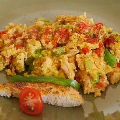 Cajun Chicken and Eggs