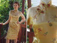 GOLDEN Lotus 1940 50er Jahre Vintage Bright Gold von Jewels4pandas