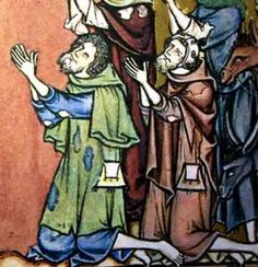 Gardecorp was a short-lived fashion, combining both cloak and surcoat 13c