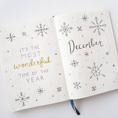 "455 Likes, 14 Comments - Dots & Pens (@dotsandpens) on Instagram: ""My December monthly spread ❄️ Inspiration from @amandarachdoodles _____________________________…"""