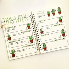 This was a challenge to edit since I took this picture in crappy light levels 😂 but here's my weekly ft my hand-drawn cactus stickers (available in my shop) 🌵🌻 . . . . . #bulletjournal #bujo #bujojunkies #bujocommunity #journal #study #organiser #bulletjournalcollection #showmeyourplanner #bulletjournalcommunity #bujoaddict #sharemybujo #lettering #bujoinspire #bulletjournalss #bujobeauties #bujobeauty #muji #blogger