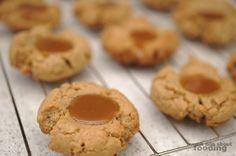 Salted #caramel thumbprint #cookies