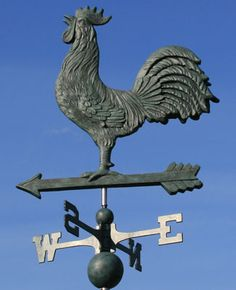 Old school weathervane to dress up an Old Town bungalow.