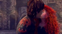 Merida Won't Say She's In Love With Hiccup feat. Anna, Elsa and Rapunzel