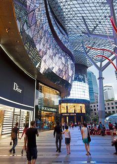 Orchard Road in Singapore is a singular shopping destination today because of the reverence with which it is visited (shoppers dress up to come here) and its unusual setup. Twenty-two malls and six department stores—including Singapore's signature Tangs—flank the street.