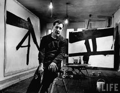 Kline's best known abstract expressionist paintings, however, are in black and white.Kline re-introduced color into his paintings around 1955,though he used color more consistently after 1959. Kline's paintings are deceptively subtle.While generally his paintings have a dynamic, spontaneous and dramatic impact, Kline often closely referred to his compositional drawings.There seem to be references to Japanese calligraphy in Kline's black and white paintings.